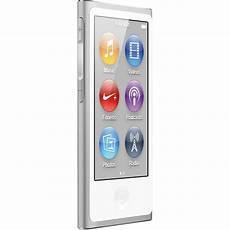 apple 16gb ipod nano silver 7th generation md480ll a b h