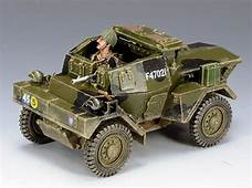 KING & COUNTRY D DAY DD163 BRITISH DINGO ARMORED CAR
