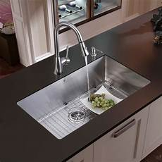 vigo industries vg15049 32 inch undermount single bowl stainless steel sink combo with 9 7 8
