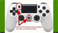 How To Ps4 Controller Mit Pc Verbinden Via Bluetooth