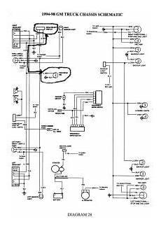 1997 chevy schematics 1997 chevy blazer headlights and high beam electrical problem