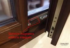 antifurto persiane sensore antifurto magnetico integrato perimetrale serramento
