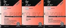 old car repair manuals 2007 pontiac grand prix lane departure warning 2007 pontiac grand prix repair shop manual original 3 volume set