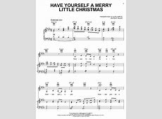 merry little christmas sheet music
