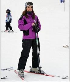 photo ski tenue femme