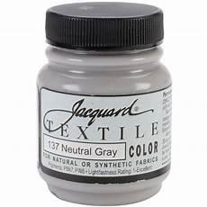 jacquard textile color fabric paint 2 25oz neutral gray