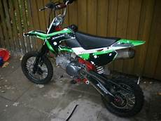 pit bike gebraucht pitbike mit yx 160 motor model 2010 biete offroad