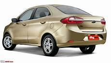 ford ka 2019 facelift 2019 ford ka aka figo spied on test team bhp
