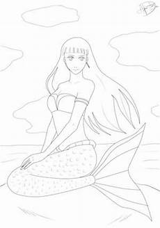 Ausmalbilder Meerjungfrau Gratis Ausmalbilder Meerjungfrau Malvor