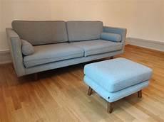sofa mit hocker neuwertiges sofa mit hocker kaufen auf ricardo