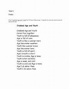 poetry worksheets for ks3 25471 worksheets ks3 poetry booklet with questions