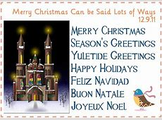 merry christmas in different languages for kids