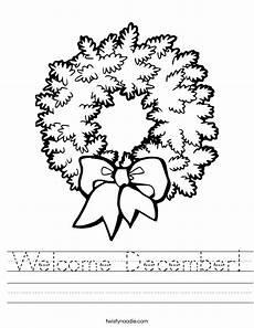 december worksheets free printable 15476 welcome december worksheet twisty noodle