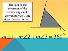 angle measures in polygons lesson