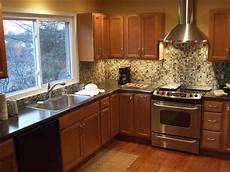 Kitchen Countertops Granite Vs Laminate by Formica Vs Granite Bathroom Ideas