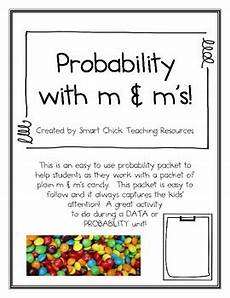 probability worksheets year 1 5925 probability with m ms activity a data probability activity by smart