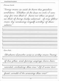 cursive handwriting practice worksheets for adults 21882 presidents worksheets 44 united states presidents character writing worksheets zaner bloser