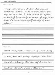 cursive handwriting worksheets 5th grade 22014 presidents worksheets 44 united states presidents character writing worksheets zaner bloser
