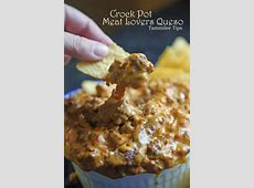 crock pot  meaty cheese dip_image