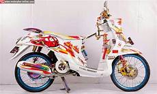 Modifikasi Motor Fino Sporty by Foto Modifikasi Motor Yamaha Mio Fino Terbaru Simple Html