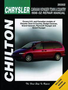 automotive repair manual 2002 chrysler town country parking system chrysler voyager dodge caravan 1996 2002