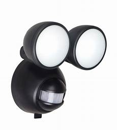 battery wall lights b q b q lethe black 1w battery powered external pir security light departments diy at b q