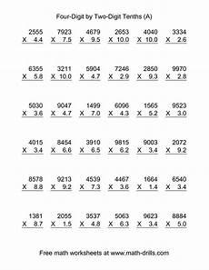 11 best images of adding and multiplying decimals worksheet decimal addition worksheets 6th