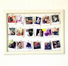 bilder mit bilderrahmen diy bilderrahmen mit polaroids