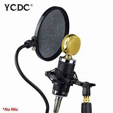 Studio Microphone Microfone Mic Wind Screen Pop Filter