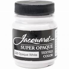 buy jacquard textile paint 2 25 oz opaque white