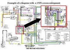 1970 ford mustang colorized wiring diagrams rom