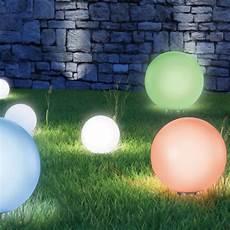 le solaire boule jardin le boule solaire color 30 cm eclairage et d 233 coration