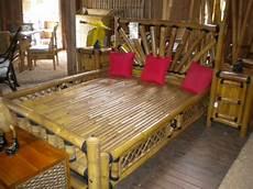meubles en bambou lit en bambou vente abris de jardin en bambou et