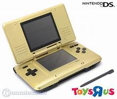 nintendo ds konsole gold toys r us limited edition