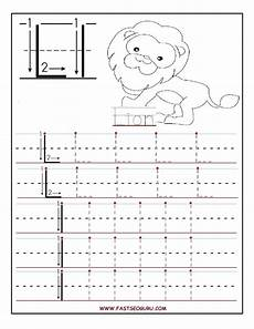 simple letter tracing worksheets 23931 printable letter l tracing worksheets for preschool alphabet preescolar escritura lecto