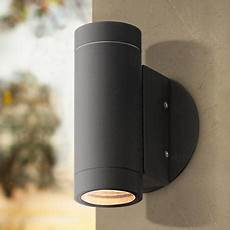 possini euro matte black up and down wall light 4c898 lsplus com