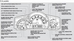 Honda Odyssey Dashboard Symbols