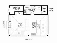 garage pool house plans pool house plans pool house plan with bar grill 062p
