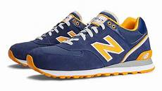 new balance stadium jacket 574 ml574skr navy blue yellow