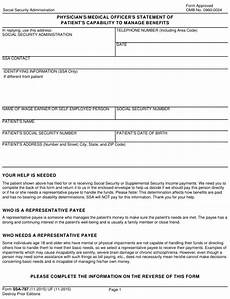 form ssa 787 download fillable pdf or fill online