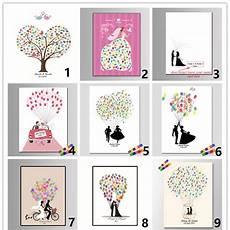 personalized fingerprint wedding guest book tree alternatives wedding fingerprint tree guest