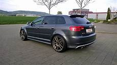 audi rs3 8p equipped with barracuda shoxx wheels and kw