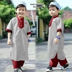 baju koko anak muslim grosir laki cowok murah islam katun adem umur usia 4 6 tahun tk sd