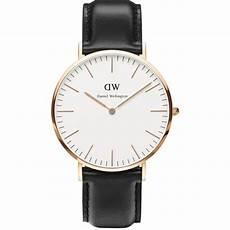montre daniel wellington noir montre daniel wellington dw00100007 montre cuir