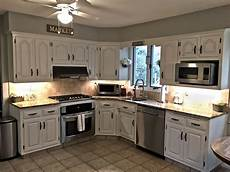 Painted Kitchen Furniture Painting Kitchen Cabinets With Chalk Paint The
