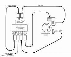 1968 el camino windshield wiper wiring diagram windhield washer troubleshooting