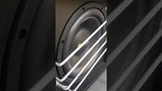 subwoofer bass eton 30cm 12 quot test play 450w rms
