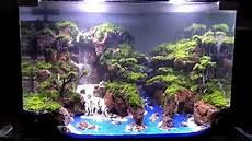 Aquascape Tema Air Terjun Telagawarna