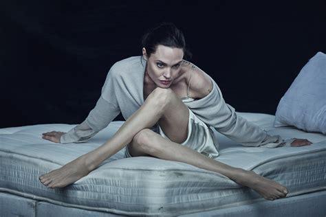 Angelina Jolie Nylons