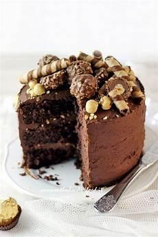torta con ferrero rocher sbriciolati ferrero rocher cake torta ferrero rocher torta de chocolate tortas